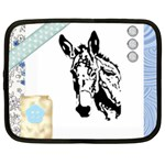 Donkey head Netbook Case (Large)