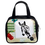 Donkey head Classic Handbag (Two Sides)