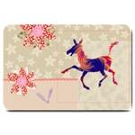 Funny Donkey Large Doormat