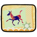 Funny Donkey Netbook Case (Large)