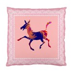 Funny Donkey Cushion Case (One Side)