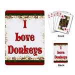 Love Donks Playing Cards Single Design