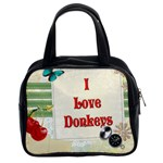 Love Donks Classic Handbag (Two Sides)