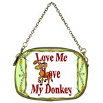 Love my donkey Cosmetic Bag (Two Sides)