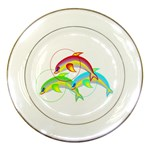Cute Kittens Porcelain Plate