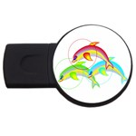 Cute Kittens USB Flash Drive Round (4 GB)