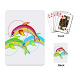 Cute Kittens Playing Cards Single Design