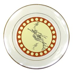Sea dragon Porcelain Plate by zooicidal