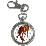 Bowing horse Key Chain Watch