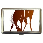 Bowing horse Cigarette Money Case