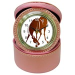 Bowing horse Jewelry Case Clock