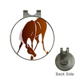 Bowing horse Golf Ball Marker Hat Clip