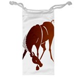 Bowing horse Jewelry Bag