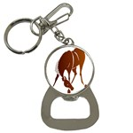 Bowing horse Bottle Opener Key Chain