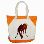 Bowing horse Accent Tote Bag
