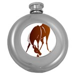 Bowing horse Hip Flask (5 oz)