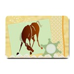 Bowing horse Small Doormat