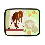 Bowing horse Netbook Case (Small)