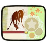 Bowing horse Netbook Case (Large)