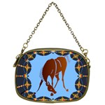 Bowing horse Cosmetic Bag (One Side)