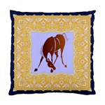 Bowing horse Cushion Case (One Side)