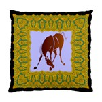 Bowing horse Cushion Case (Two Sides)