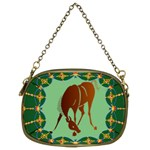 Bowing horse Cosmetic Bag (Two Sides)