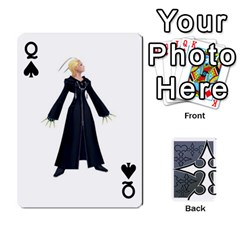Queen Luxord s Deck Of Fate By Joe Mccord   Playing Cards 54 Designs   Masae69312l8   Www Artscow Com Front - SpadeQ