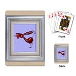Braying donkey Playing Cards Single Design