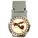 Braying donkey Money Clip Watch