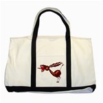 Braying donkey Two Tone Tote Bag