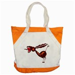 Braying donkey Accent Tote Bag