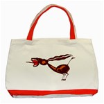 Braying donkey Classic Tote Bag (Red)