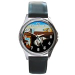 persistance of memory Round Metal Watch