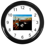 persistance of memory Wall Clock (Black)