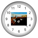 persistance of memory Wall Clock (Silver)