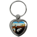 persistance of memory Key Chain (Heart)