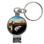 persistance of memory Nail Clippers Key Chain