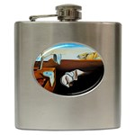 persistance of memory Hip Flask (6 oz)