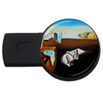 persistance of memory USB Flash Drive Round (1 GB)