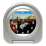 persistance of memory Travel Alarm Clock
