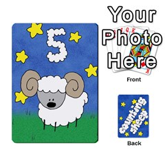 Counting Sheep By Rebekah Bissell   Playing Cards 54 Designs   174sm4rnhei9   Www Artscow Com Front - Heart9