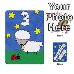 Counting Sheep By Rebekah Bissell   Playing Cards 54 Designs   174sm4rnhei9   Www Artscow Com Front - Club2
