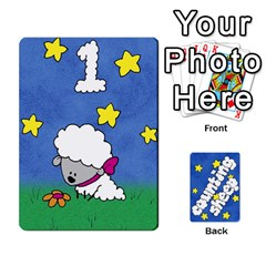 King Counting Sheep By Rebekah Bissell   Playing Cards 54 Designs   174sm4rnhei9   Www Artscow Com Front - ClubK