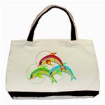 Drinking giraffe Classic Tote Bag (Two Sides)