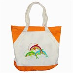 Drinking giraffe Accent Tote Bag