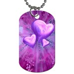 Purple_Heart Dog Tag (One Side)