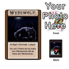 Werewolf By Lee Smith   Playing Cards 54 Designs   3otvomx2h4nc   Www Artscow Com Front - Spade8