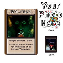 Jack Werewolf By Lee Smith   Playing Cards 54 Designs   3otvomx2h4nc   Www Artscow Com Front - SpadeJ