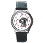 NMrl Heartline Round Metal Watch